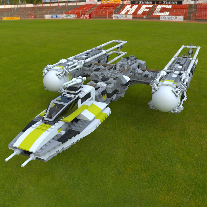 Modular Brick Y-Wing Fighter 2