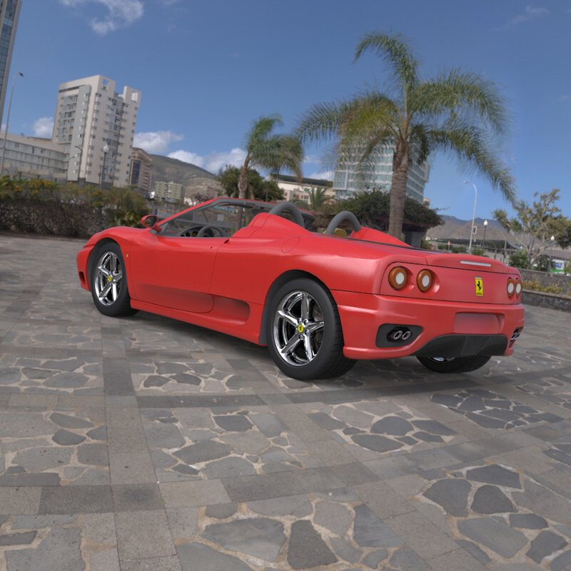 Jch Digital Designs Ferrari 360 Spider 2000
