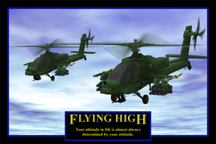 Apaches Flying High