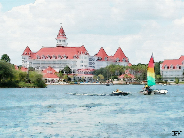"Grand Floridian ""Watercolor"""