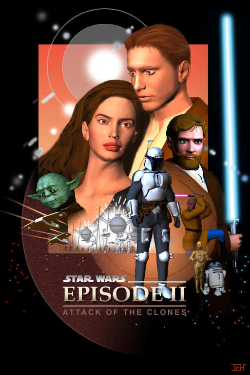 Star Wars: Episode II- Attack of the Clones Movie Poster