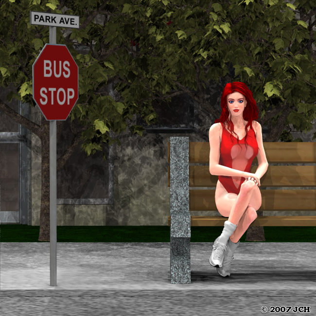The Girl at the Bus Stop