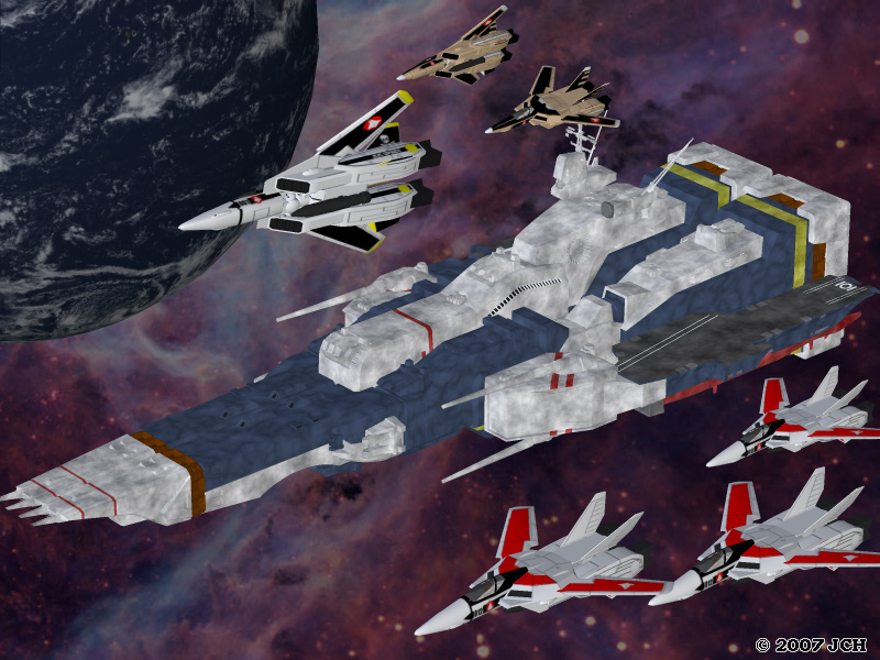 SDF-1 and Squadron